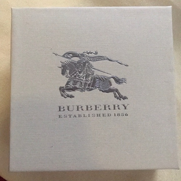 Authentic Burberry scarf Box